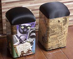 reciclagem com latas de tinta - Pesquisa Google