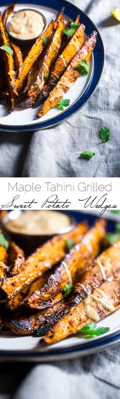 Maple Tahini Grilled