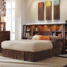 The Shaped Headboard Of This Panel Bed From The Belladonna