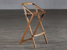 Download the catalogue and request prices of wooden barstool 7, design Grupa to manufacturer Artisan