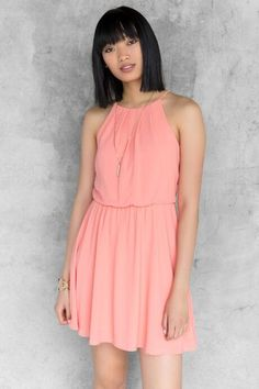 OMG!  I NEED this dress in every color!  Robinwood Solid Dress $44.00