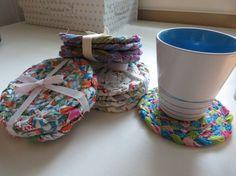 How To: Braided Rag Rug Coaster