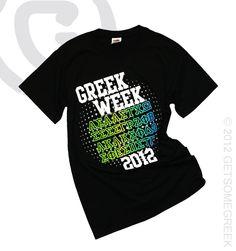 GREEK WEEK SHIRT FROM EMPORIA STATE UNIVERSITY!!!