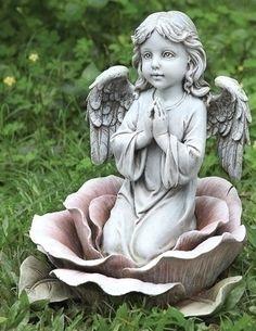 The Collectors Hub - Angel In The Rose Garden Statue, $49.45 (http://www.thecollectorshub.com/angel-in-the-rose-garden-statue/)