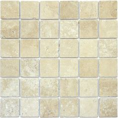 """You'll love the Tuscany Classic 2"""" x 2"""" Travertine Mosaic Tile in Beige at Wayfair - Great Deals on all Home Improvement products with Free Shipping on most stuff, even the big stuff."""