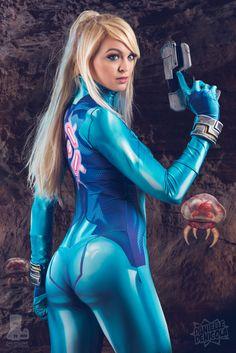 Zero Suit Samus Metroid Cosplay by DanielleDeNicola.deviantart.com on @DeviantArt - More at https://pinterest.com/supergirlsart