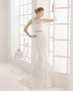 MALONE vestido de novia de Aire Barcelona 2016