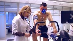 Cardiopulmonary Exercise Testing with Quark CPET and stress ECG at Russian sport medicine facility