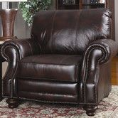 Found it at Wayfair - Huslia Leather Recliner