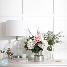 Finish your living room styling with stunning artificial flowers #artificialflowers #fakeflowers #imitationflowers #flowers #diyhomedecor #homedecor #diy #homestyle #homestyling #artificialflowerarranging #artificialflowerarrangement #flowerdecor Fake Flowers Decor, Home Flowers, Artificial Flower Arrangements, Artificial Flowers, Flower Decorations, Cozy Living Rooms, Home Living Room, Living Room Decor, Pink And White Flowers