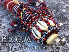 Ogo Elegua For inquires, please send an email to OrisaCouture@aol.com #ogo #elegua #eleggua #elegba #elegbara #esu #eshu #orisa #orisha #lukumi #santeria #yoruba #diaspora #orisacouture