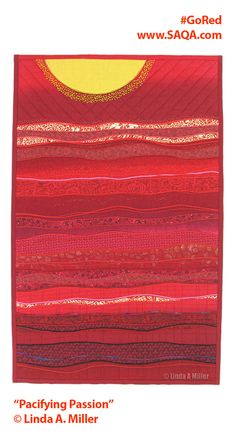 images about Quilts - red, rose, ruby, rust on Pinterest | Art quilts ...
