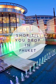 The best Phuket shopping malls have much in common with many malls but bargain prices are the feature that distinguishes the shopping in Phuket. #phuket #shopping #thailand
