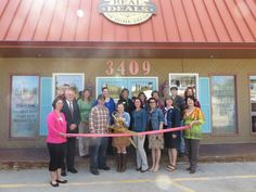 Our October store ribbon cutting! It's official: We are a member of the Rapid City community!