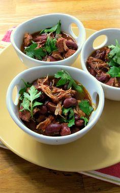 Pressure Cooker Turkey & Red Bean Chili + VIDEO!