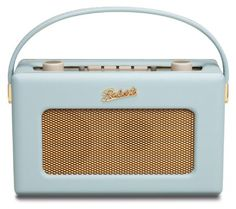 Roberts RD60 Revival DAB/FM RDS Digital Radio with Up to 120 Hours Battery Life - Duck Egg: Amazon.co.uk: TV