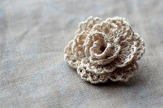 ~ love this crocheted rosette
