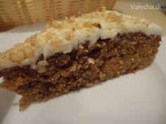 výborný šťavnatý a v celku zdravý koláčik, príprava je veľmi jednoduchá a je možné  upiecť ho ako tortu