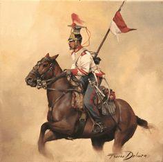 Caballería de Línea del Principe 1850