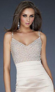 Short Black Prom Dresses Natural Elastic woven satin Prom Dresses 04286