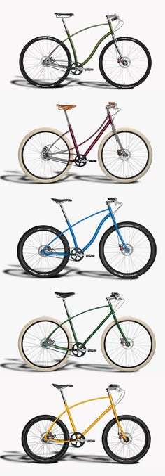 Budnitz Bicycles Colors