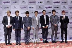 Super Junior Poses at \'Super Show4 3D\' Movie Premiere