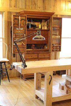 Woodworking Workshop - Timber-Framed Shop in Hendersonville, TN