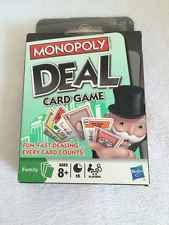 Monopoly Deal Card Game Hasbro 2008 Sealed Discontinued NIB Stocking Stuffer