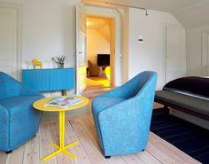 Hotel Skeppsholmen, Sweden. A member of Design Hotels.  http://www.designhotels.com/hotels/europe/sweden/stockholm/hotel_skeppsholmen