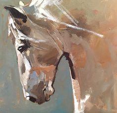 """Stallion in Light"" - Originals - All Artwork - Peggy Judy | Fine Art World"
