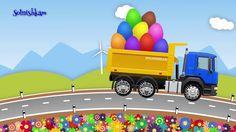 Машинки  Грузовичок  Яйца с сюрпризом  Учим фрукты и ягоды  Развивающий ...