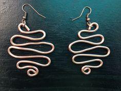 94b3de18e Design handcrafted copper earrings find @ royalessence.storenvy.com  #jewelry #art #handmadrjewelry #copperjewelry
