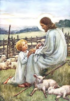 The Good Shepherd 35 CMB - Cicely Mary Barker by Waiting For The Word, via Flickr