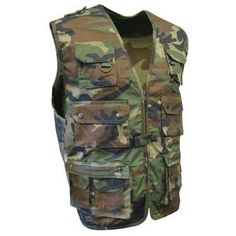 Vests & Waistcoats | Army and Outdoors | Army & Outdoors Army Jackets, Flak Jacket, Army Surplus, Tactical Vest, Woodland Camo, Camo Patterns, Hand Warmers, Vests, Military Jacket