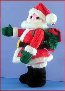 Here Comes Santa Claus Amigurumi Free Pattern – Free Amigurumi Crochet Crochet Santa, Christmas Knitting Patterns, Holiday Crochet, Crochet Toys Patterns, Amigurumi Patterns, Stuffed Toys Patterns, Crochet Crafts, Free Crochet, Amigurumi Doll