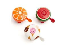 These Cute Bike Bells from Poketo are Painted Like Fruits and Sweets #bicycle #accessories trendhunter.com