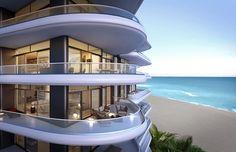 Faena House Miami Beach one-of-a-kind Penthouse Luxury Condo, Beach Villa, Pent House, South Florida, Miami Beach, House Design, Mansions, House Styles, Sink Design