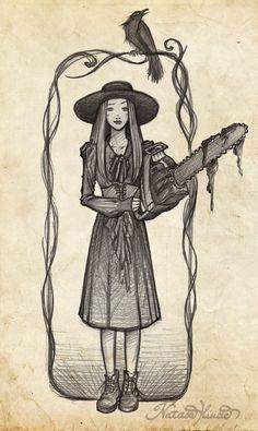 American Horror Story Coven Art Print