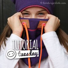 Tutorial Tuesday: Schlupfschal, Snood oder Halssocke – Hauptsache kuschelig und warm!