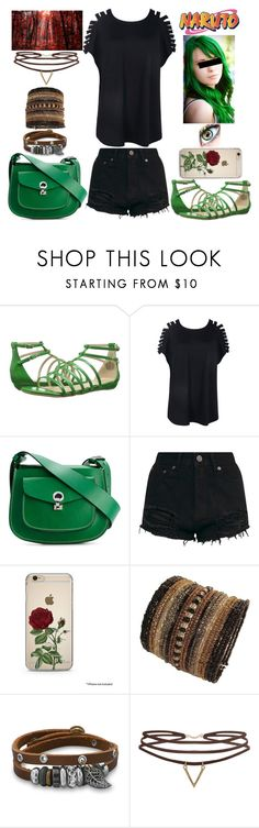"""""""Naruto Inspired"""" by lucy-wolf ❤ liked on Polyvore featuring Manic Panic NYC, Nine West, Boohoo, Marni, BillyTheTree and Humble Chic"""