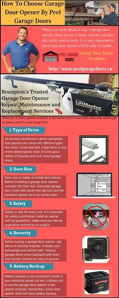 How To Choose Garage Door Opener By Peel Garage Doors