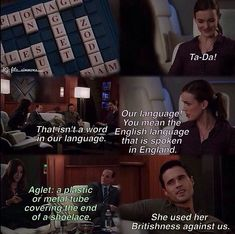 Agents of SHIELD. So I saw this and was all like I know what an aglet is thanks to Phineas and Ferb.