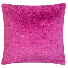 This bright pink pillow will definitely brighten up any dorm room! #DreamDormOCM