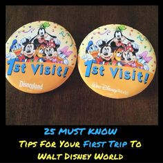 25 Tips For Your First Trip To Walt Disney World
