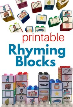 Phonemic Awareness, Build Your Own, Pretend Play, Building, Cards, Diy, Role Play, Buildings, Maps
