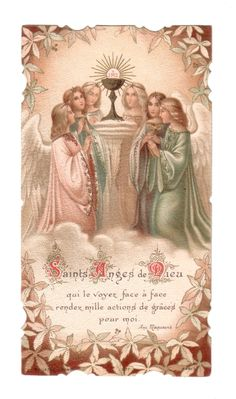 Saints Angels of God, when you see Him face to face...