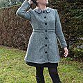 Manteau Pavot en tweed