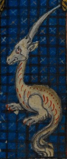 Detail from medieval manuscript, British Library Stowe MS 17 'The Maastricht Hours' f13r