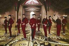 """Mamacita"" MV shoot for Super Junior"