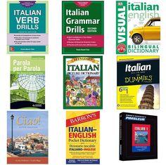 "My latest #kit: ""Best Books for Learning Italian"""